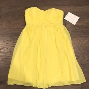 NEW Yellow Cocktail Dress